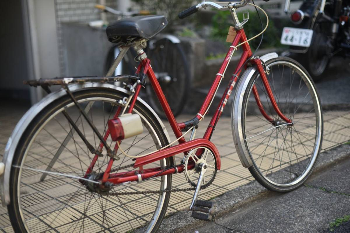102854 ヴィンテージ 自転車 1978年製「PUCH TALEDO」プフ オーストリアレトロ ビンテージ  クラシック イギリス パシュレイ 東京杉並_画像6