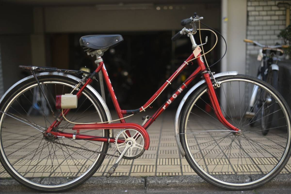102854 ヴィンテージ 自転車 1978年製「PUCH TALEDO」プフ オーストリアレトロ ビンテージ  クラシック イギリス パシュレイ 東京杉並_画像1