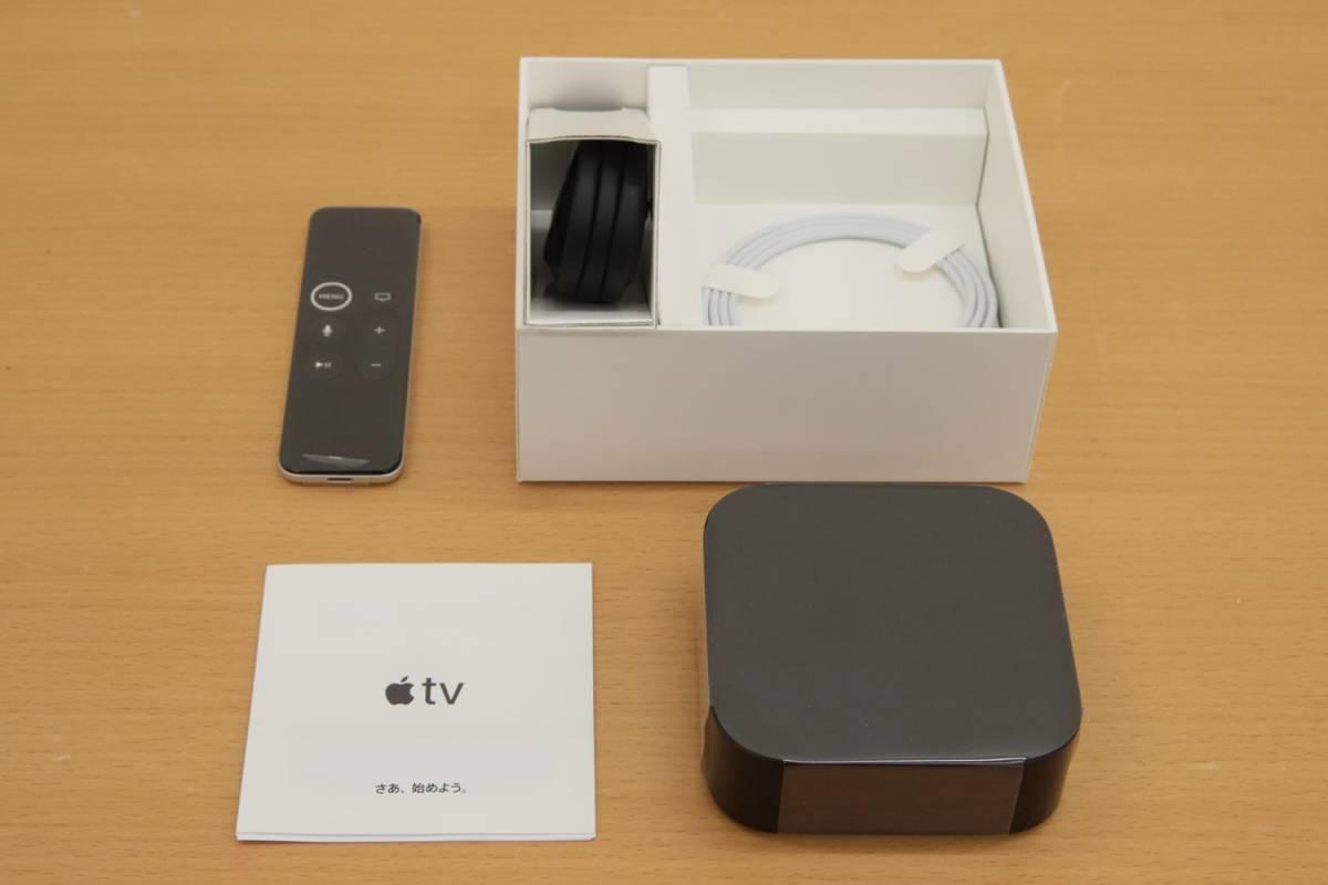 Eア4 QK04184 展示品 アップル Apple TV 4K HDR 32GB MQD22J/A_画像5