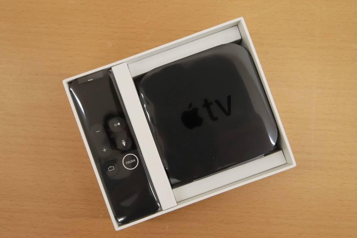 Eア4 QK04184 展示品 アップル Apple TV 4K HDR 32GB MQD22J/A