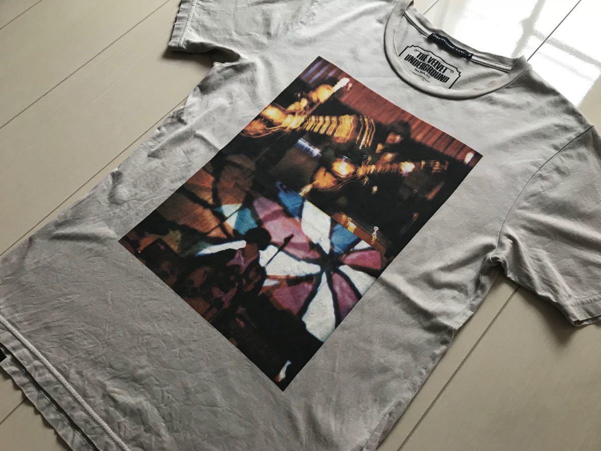 ヒステリックグラマー THEE HYSTERIC XXX ジィヒステリックトリプルエックス Tシャツ THE VELVET UNDERGROUND NO.20701_画像3