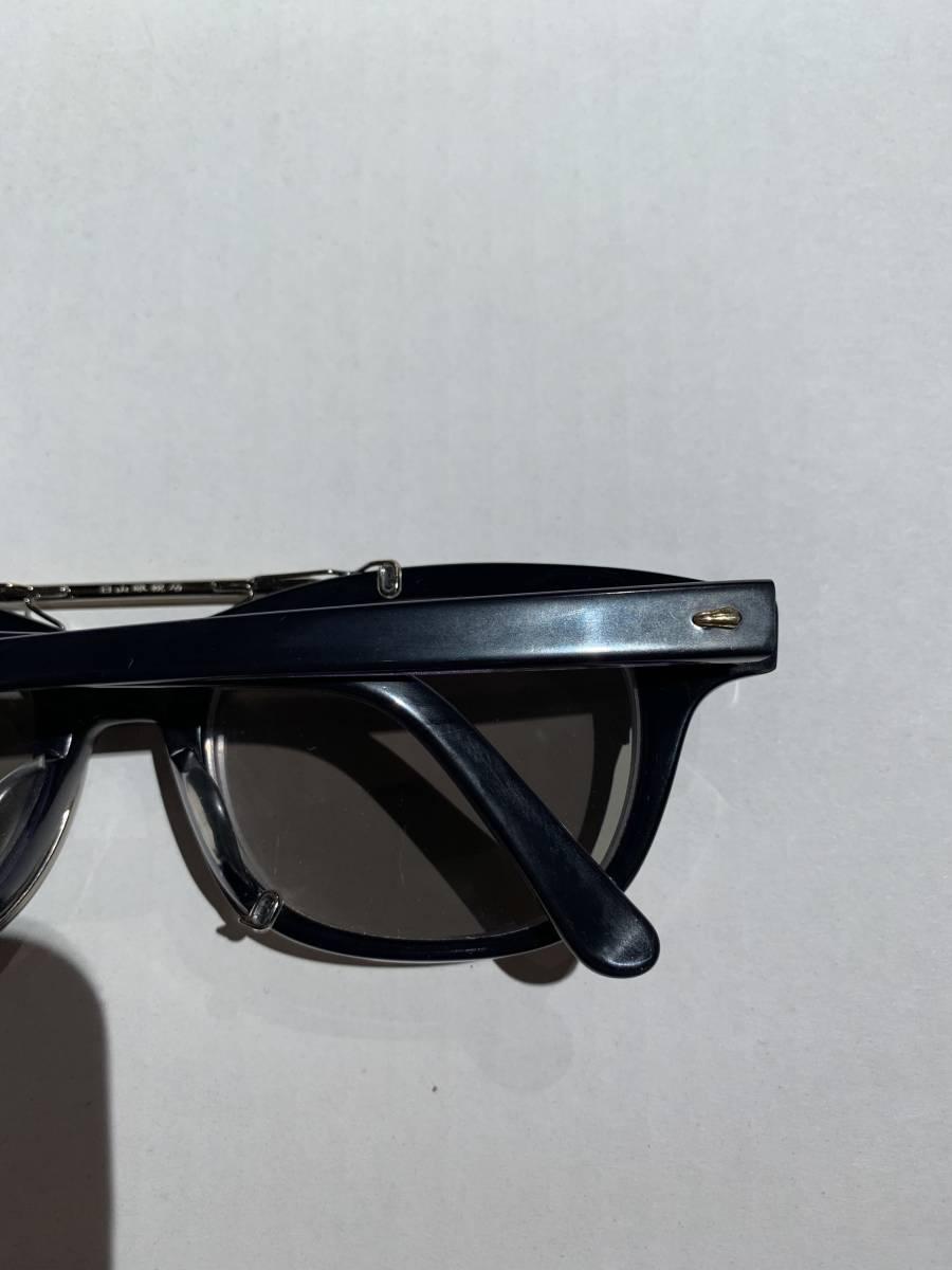 白山眼鏡 クリップオン 付き 2WAYメガネ アイウェア サングラス 眼鏡 _画像5