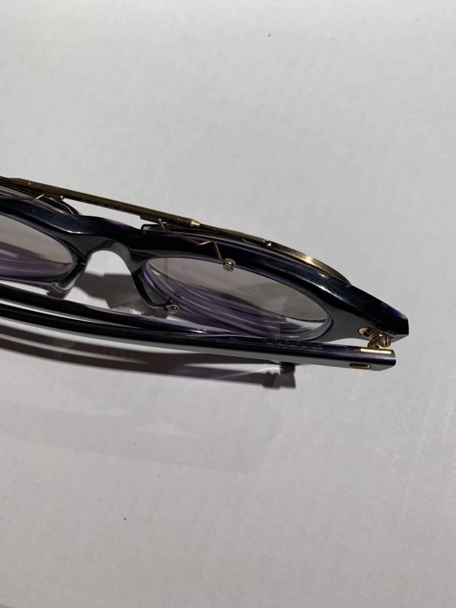 白山眼鏡 クリップオン 付き 2WAYメガネ アイウェア サングラス 眼鏡 _画像7