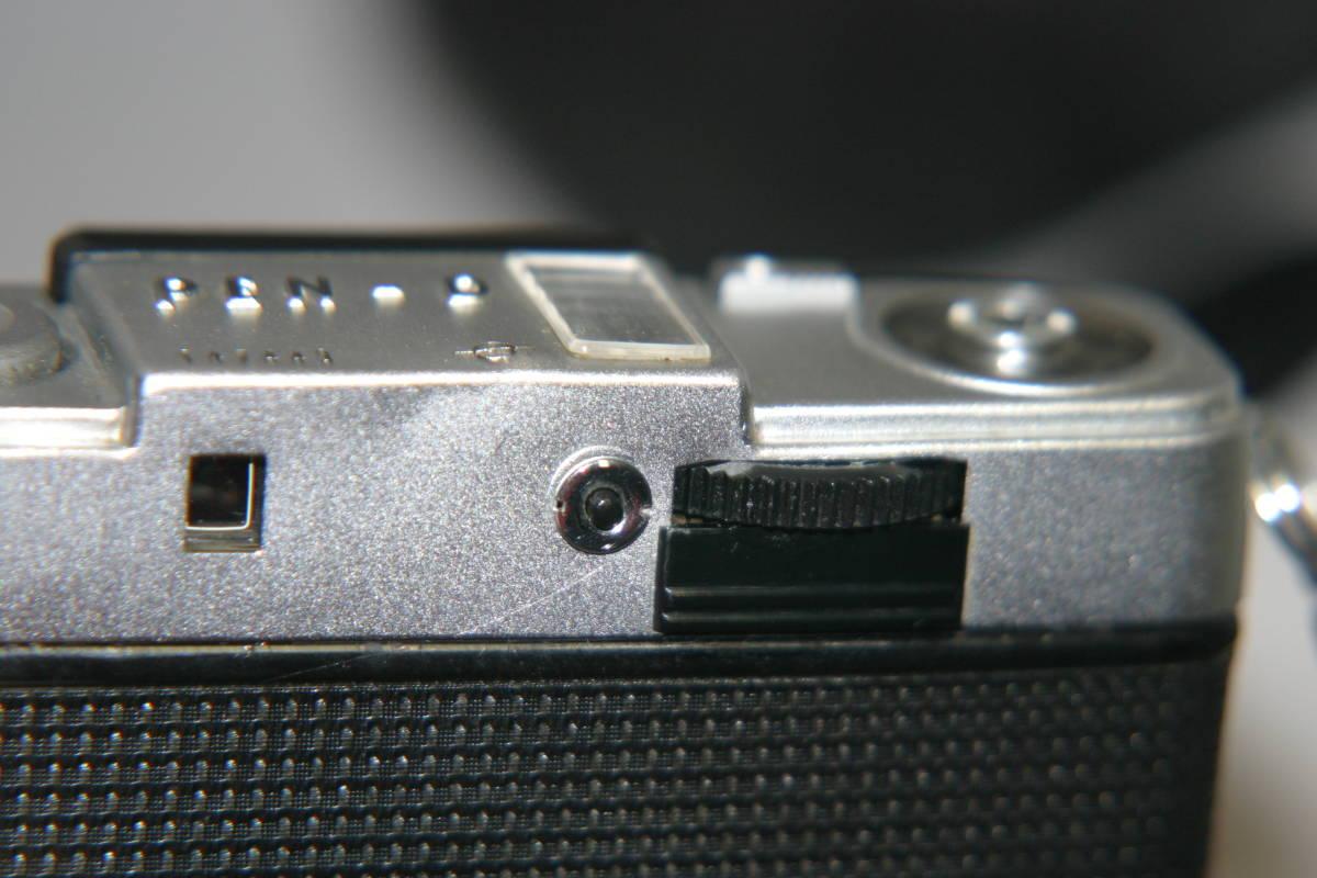 整備済 オリンパス ペンD2 モルト張替済 ストラップ付_画像9
