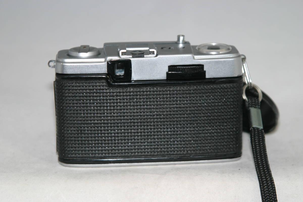 オリンパスペン EE-3 整備済 モルト張替済 レンズキャップ・フィルタ・ストラップ付き_画像3