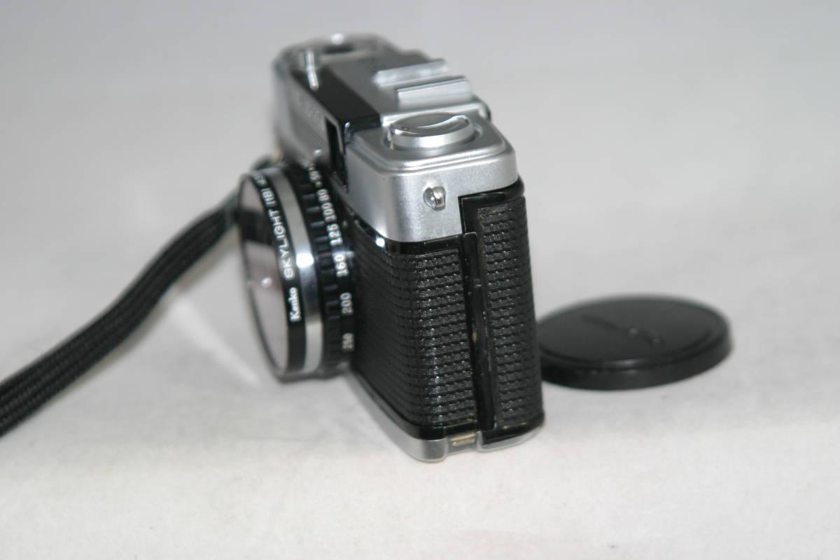 オリンパスペン EE-3 整備済 モルト張替済 レンズキャップ・フィルタ・ストラップ付き_画像5