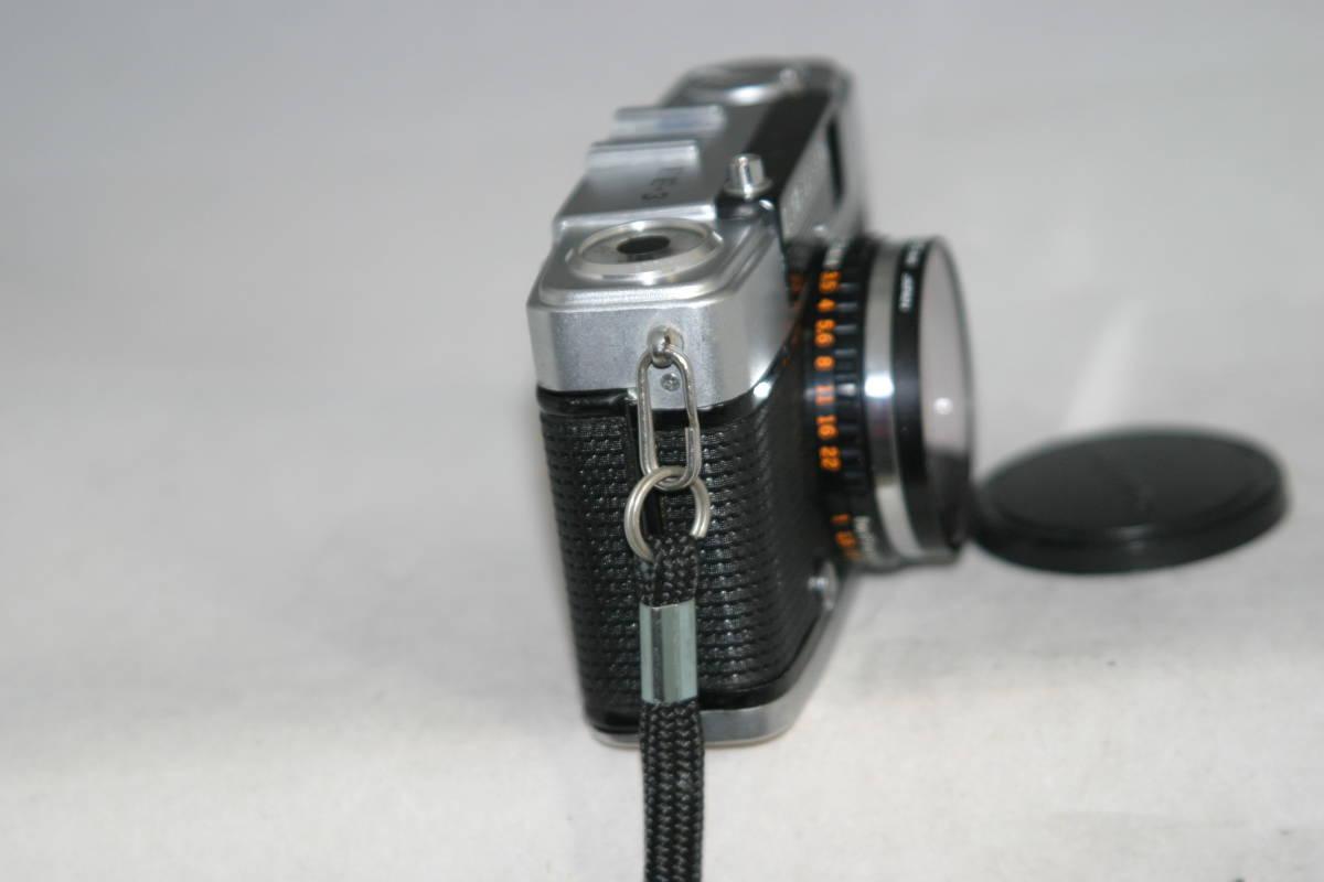 オリンパスペン EE-3 整備済 モルト張替済 レンズキャップ・フィルタ・ストラップ付き_画像4