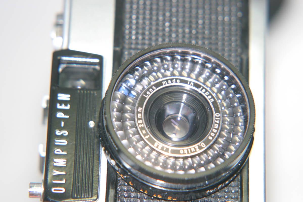 オリンパスペン EE-3 整備済 モルト張替済 レンズキャップ・フィルタ・ストラップ付き_画像6