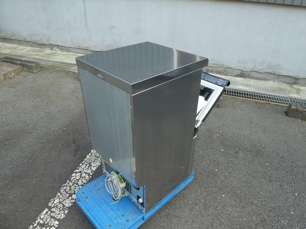 【美品】製氷機 ホシザキ IM-25M-1 単相100V 2018年式 №h-0723 小型 アンダーカウンター キューブアイス アイスメーカー 中古□_画像5