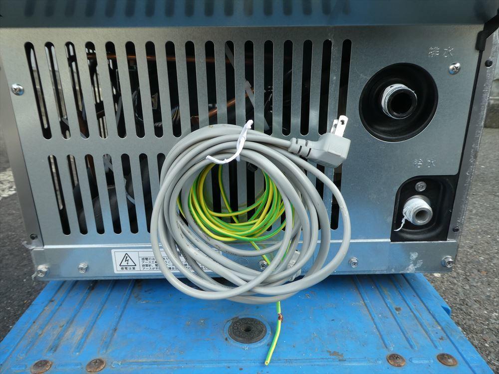 【美品】製氷機 ホシザキ IM-25M-1 単相100V 2018年式 №h-0723 小型 アンダーカウンター キューブアイス アイスメーカー 中古□_画像7