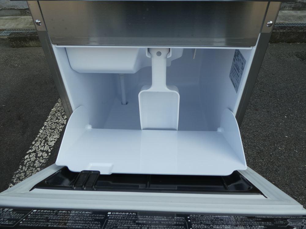 【美品】製氷機 ホシザキ IM-25M-1 単相100V 2018年式 №h-0723 小型 アンダーカウンター キューブアイス アイスメーカー 中古□_画像3