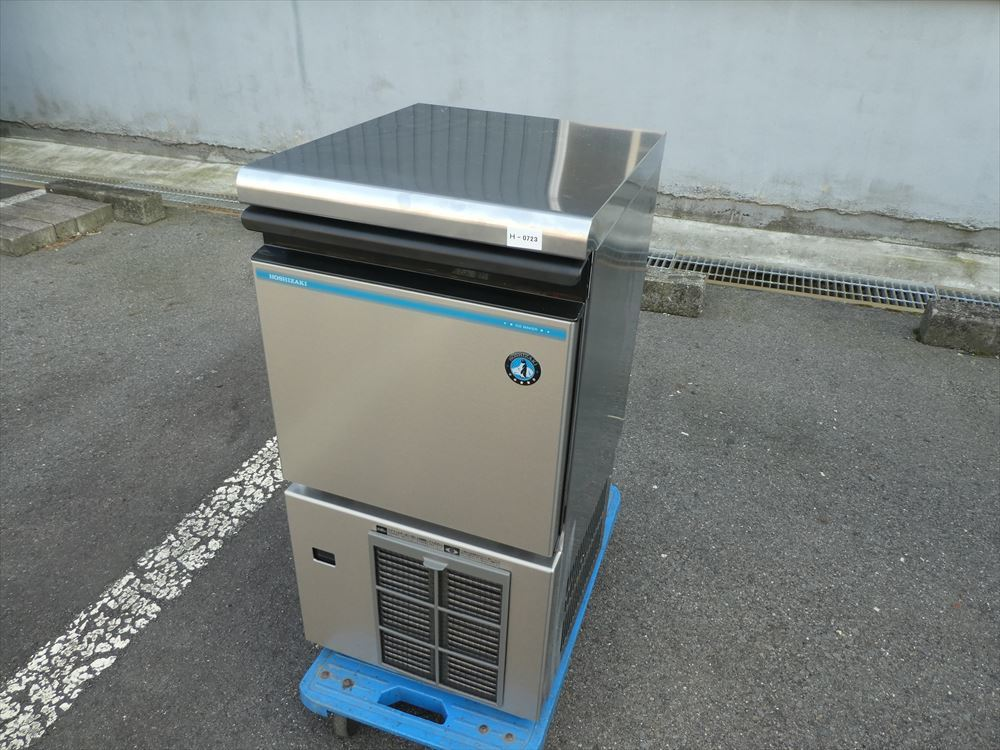 【美品】製氷機 ホシザキ IM-25M-1 単相100V 2018年式 №h-0723 小型 アンダーカウンター キューブアイス アイスメーカー 中古□
