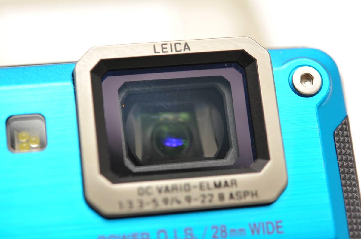 良品 パナソニックPanasonic DMC-FT2 スプラッシュブルー 付属品全て有り 元箱のみ無し 防水カメラ_画像6