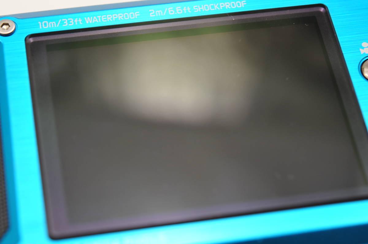 良品 パナソニックPanasonic DMC-FT2 スプラッシュブルー 付属品全て有り 元箱のみ無し 防水カメラ_画像7