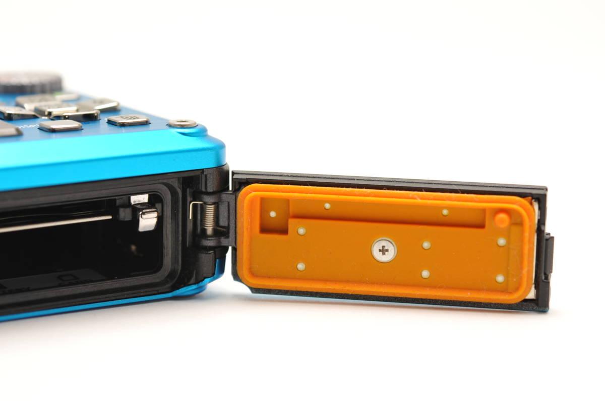 良品 パナソニックPanasonic DMC-FT2 スプラッシュブルー 付属品全て有り 元箱のみ無し 防水カメラ_画像9