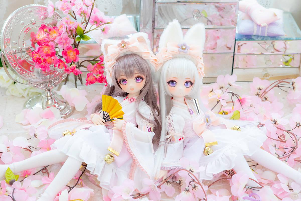 DDH-01 カスタムヘッド セミホワイト肌 桜姫2019 ~哀~ RonshukaCouture_画像10