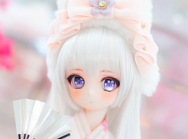 DDH-01 カスタムヘッド セミホワイト肌 桜姫2019 ~哀~ RonshukaCouture_画像2