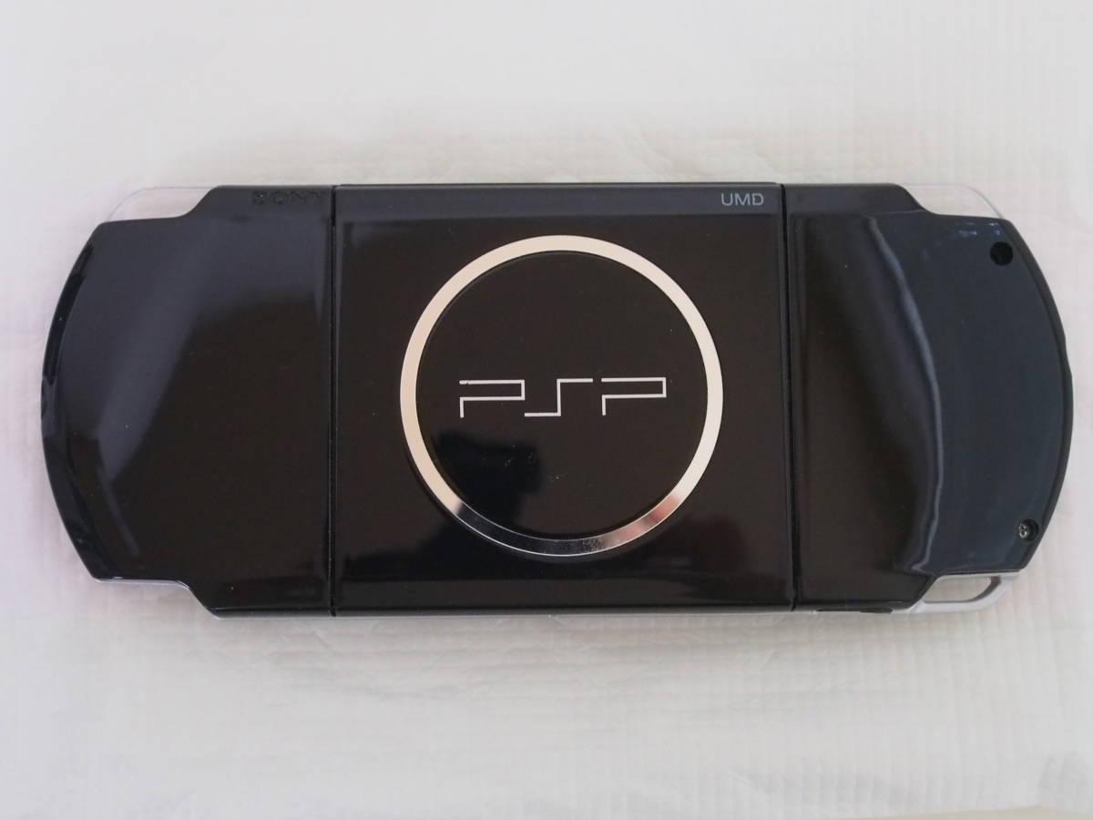 [中古]PSP本体/PSP-3000PB/プレイステーション・ポータブル/PIANO BLACK/メモリースティック8GB付属/d110_画像3