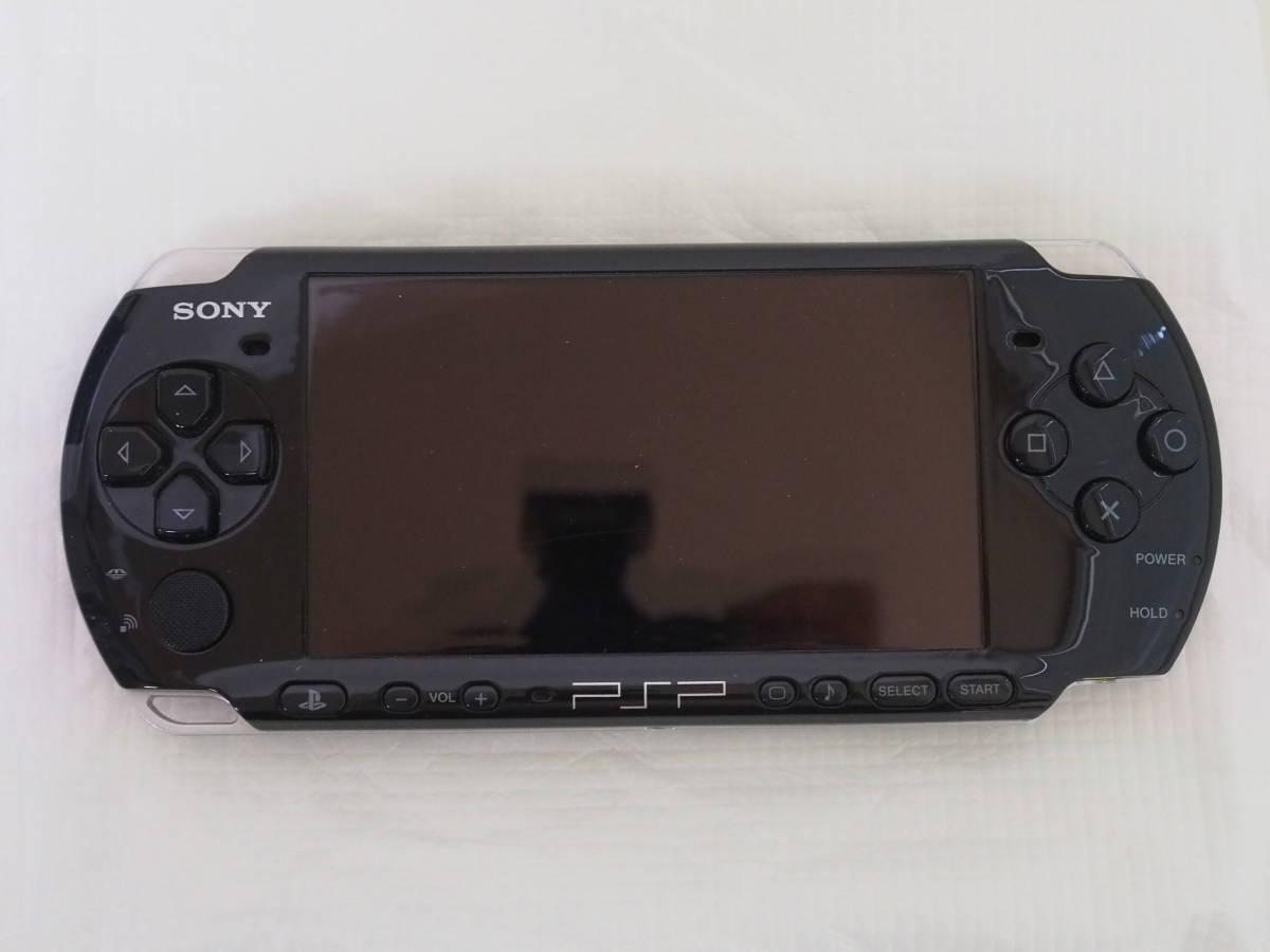 [中古]PSP本体/PSP-3000PB/プレイステーション・ポータブル/PIANO BLACK/メモリースティック8GB付属/d110_画像2