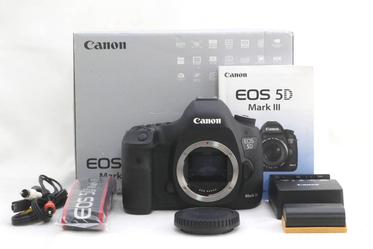 ★極美品★キヤノン CANON EOS 5D Mark III 元箱付