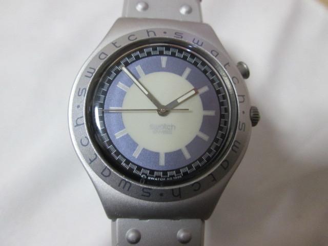 ⅱ4)●(u) Swatch swiss IRONY 腕時計