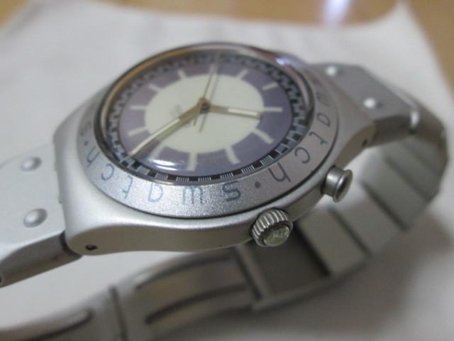ⅱ4)●(u) Swatch swiss IRONY 腕時計 _画像3