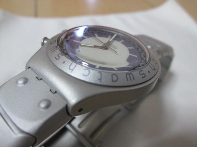 ⅱ4)●(u) Swatch swiss IRONY 腕時計 _画像4