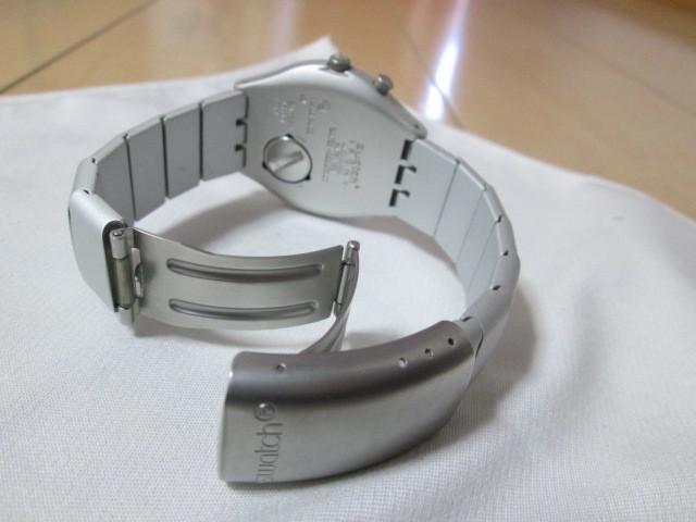 ⅱ4)●(u) Swatch swiss IRONY 腕時計 _画像5