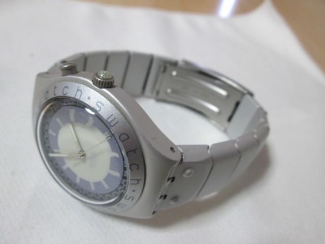 ⅱ4)●(u) Swatch swiss IRONY 腕時計 _画像6