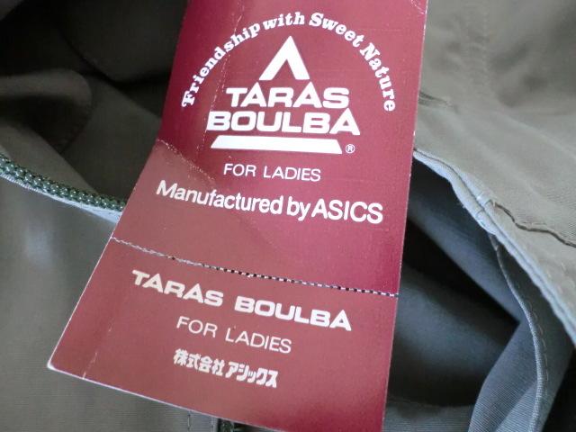 TARAS BOULBA タラスブルバ/アシックス ◎60/40フード付きマウンテンパーカ ◎撥水・女性用Mサイズ (日本製)_画像6