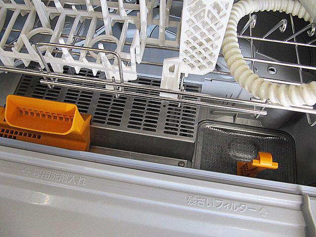 中古品/美品 2016年製 パナソニック/Panasonic 食器洗い乾燥機 NP-TR8-W  ホワイト/ECONAVI/エコナビ 搭載 食器点数45点_画像3