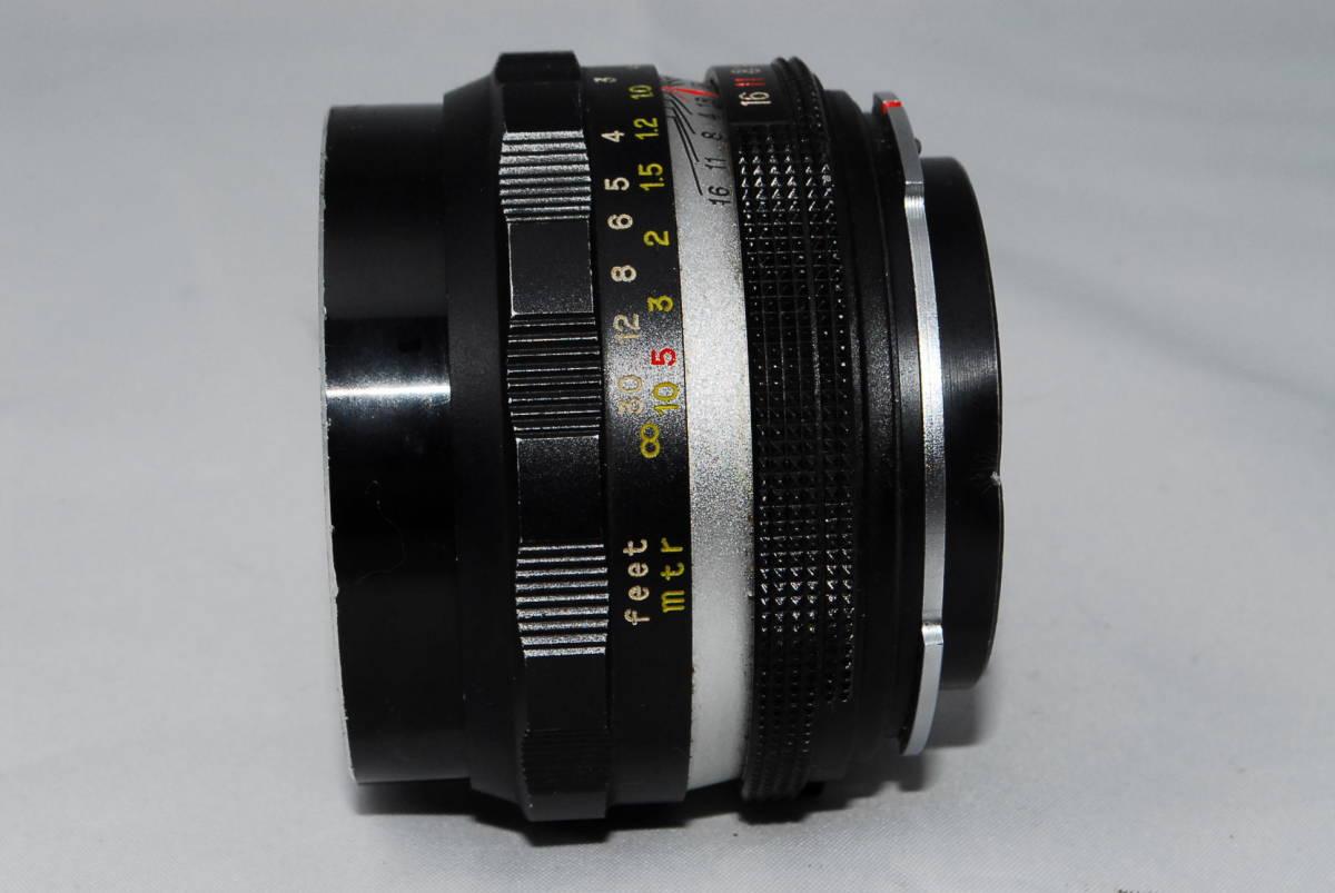 ♪値下げ交渉可能【ペトリ】Petri C.C Auto 55mm F1.8【希少レンズ】#10_画像3