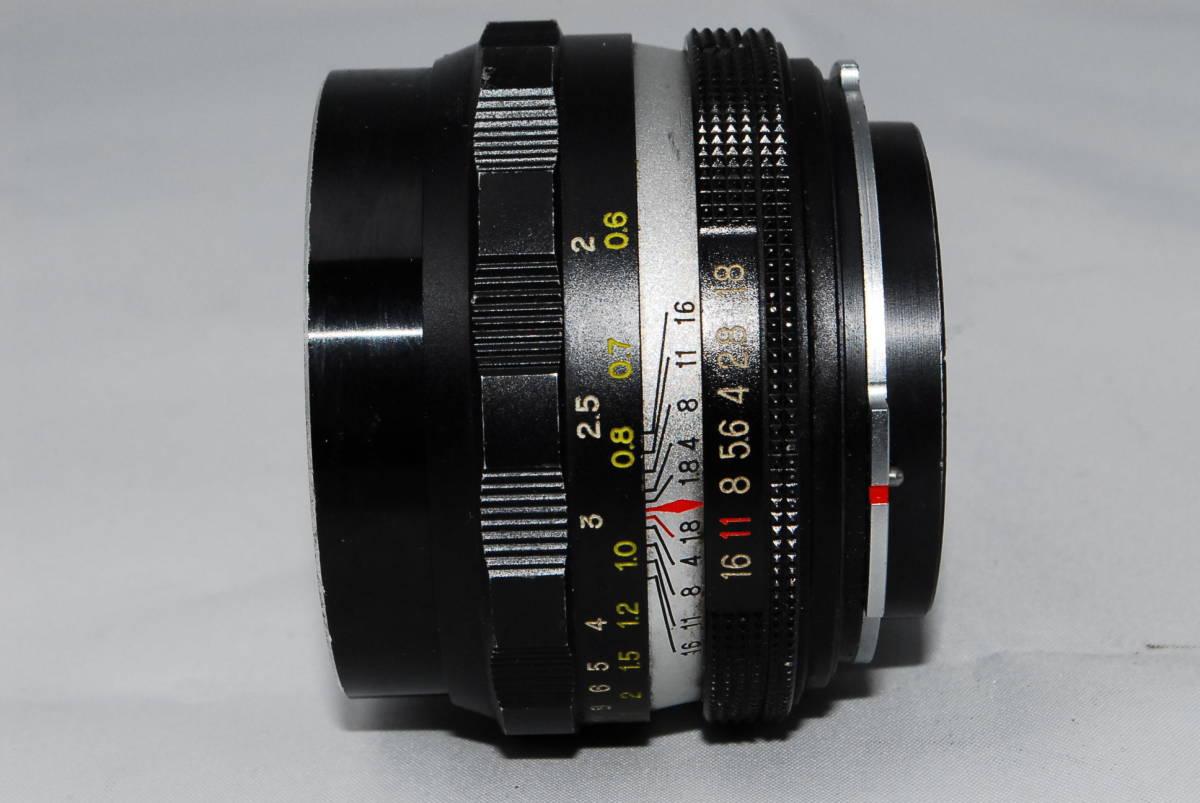 ♪値下げ交渉可能【ペトリ】Petri C.C Auto 55mm F1.8【希少レンズ】#10_画像4