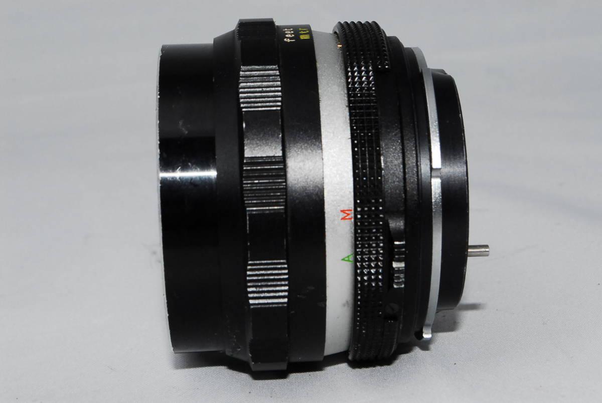 ♪値下げ交渉可能【ペトリ】Petri C.C Auto 55mm F1.8【希少レンズ】#10_画像2
