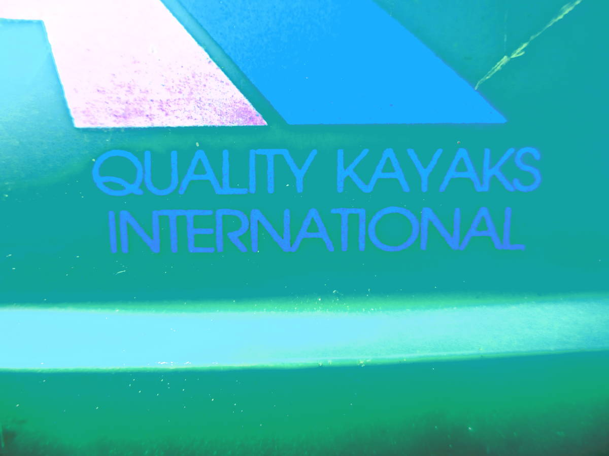 CON BATT カヤック カヌー QUALITY KAYAKS INTERNATIONAL_画像6