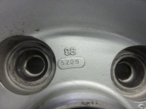 中古ホイール BBS GERMANY 16インチ 7J +50 PCD 114.3 5穴 ハブ径 67mm 1台分 センターキャップ ロック式 キャップレンチ無し_画像10