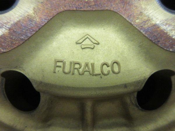 中古ホイール FURUKAWA 古河アルミニウム RACINGFORG レーシングフォージ FURALCO 14インチ 6.5J +14 114.3 4穴 ハブ径 75mm 1台分 当時物_画像8
