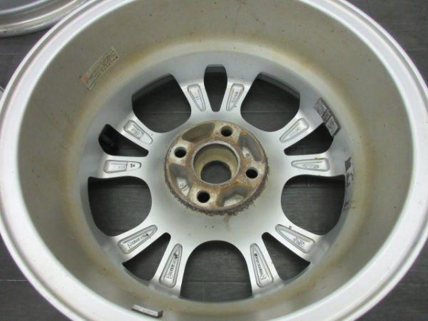 中古ホイール MAK トリノ 15インチ 6J +35 PCD 98 4穴 ハブ径 58.1mm 1台分 FIAT フィアット 500 プント パンダ_画像6