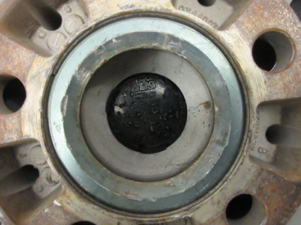 中古ホイール BBS RX201 17インチ 8J +35 PCD 112 5穴 1台分 1枚に歪みあり 恐らく再塗装品 VW フォルクスワーゲン アウディ など_内径57.1mm ハブリング付