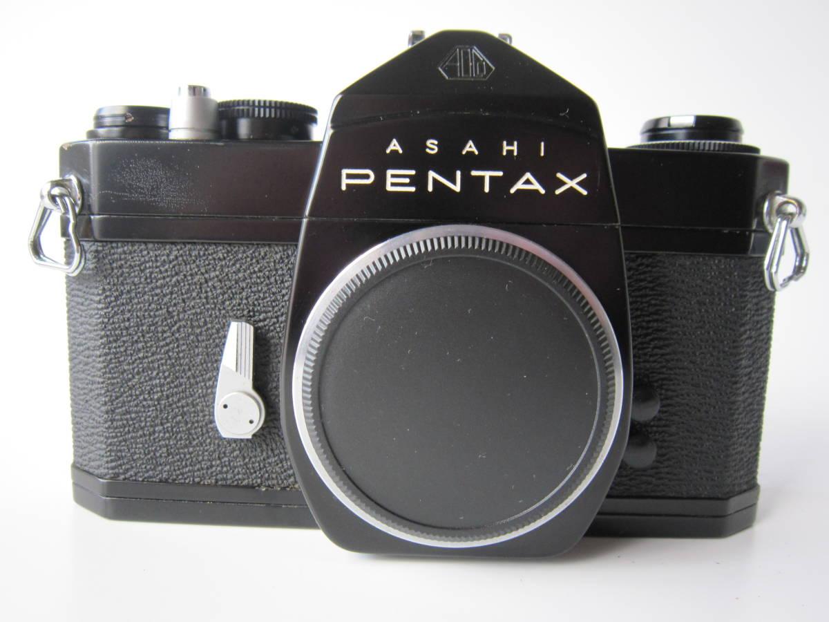◎ ペンタックス SL ASAHI PENTAX SL ブラック 一眼レフカメラ ◎_純正皮ケース+ショルダーベルトが付きます