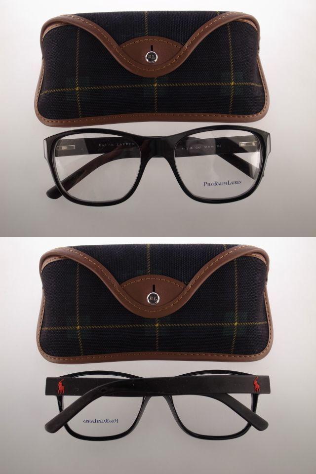 ● 訳アリのため1本限定! 格安です! ラルフローレン メガネフレーム 眼鏡 ケース サングラス 老眼鏡 RRL パープルレーベル ●