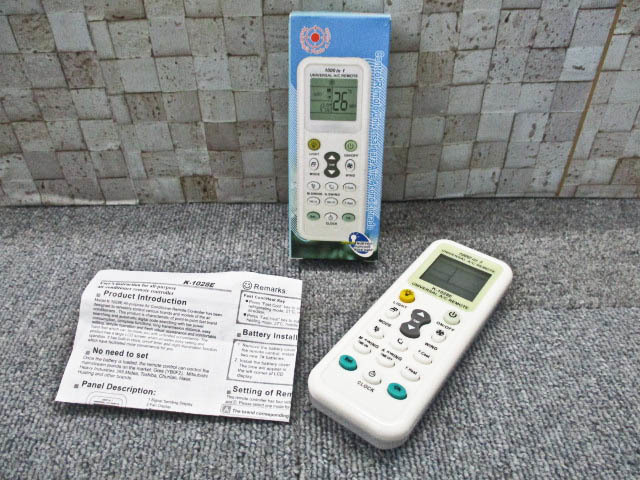 ■1000in1 エアコン リモコン UNIVERSAL A/C REMOTE■H-103_画像1