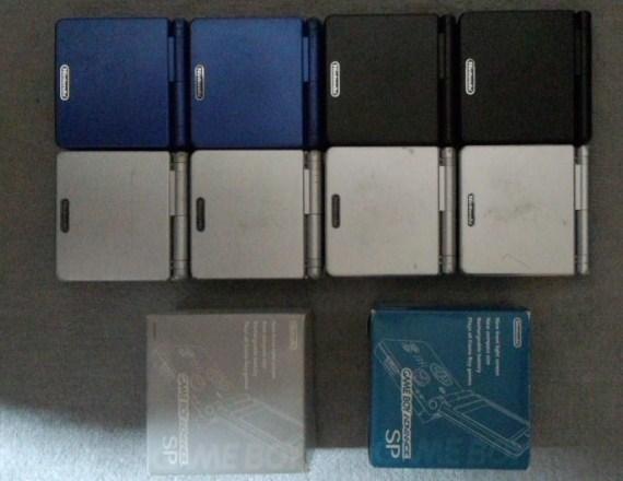 ゲームボーイアドバンスSP 10台 ジャンク GBASP