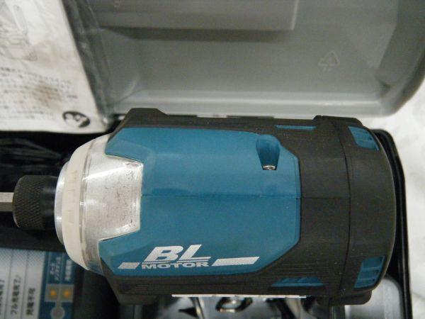 【中古品】マキタ 充電式インパクトドライバ TD171DRGX 6.0Ah/18V 製造番号292133_画像5