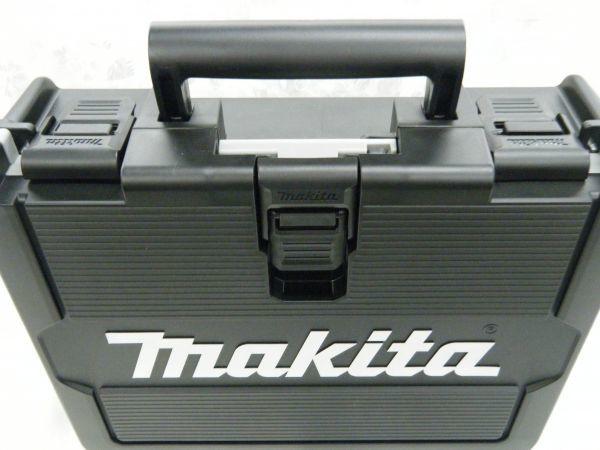 *【未使用品】* マキタ 充電式インパクトドライバ TD171DRGX(B)ブラック 6.0Ah/18V 製造番号181448_画像9