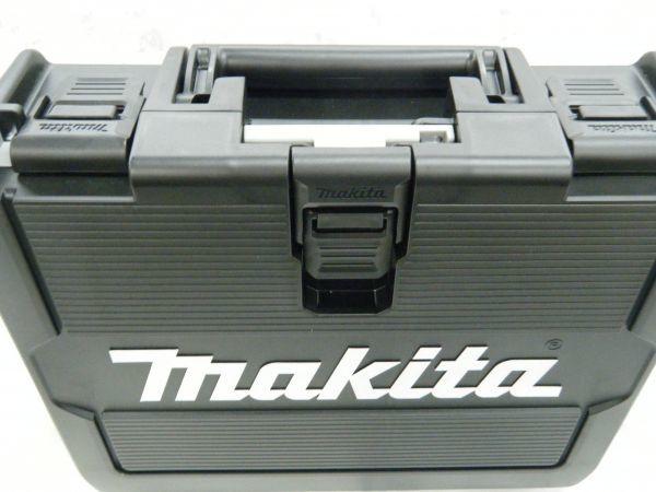 *【未使用品】*マキタ 充電式インパクトドライバ TD171DRGX(B)ブラック 6.0Ah/18V 製造番号225144_画像9