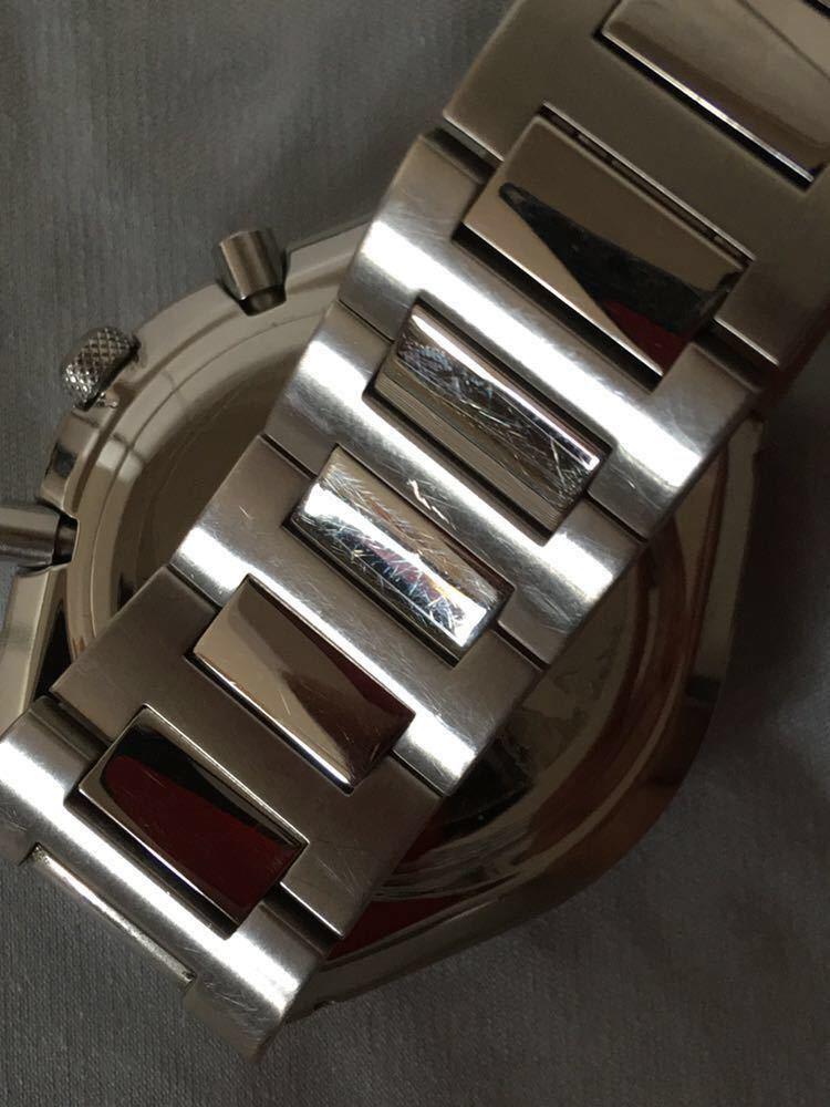 WIRED◆ワイアード クォーツ腕時計 アナログ 堅牢感のあるデザイン _画像3
