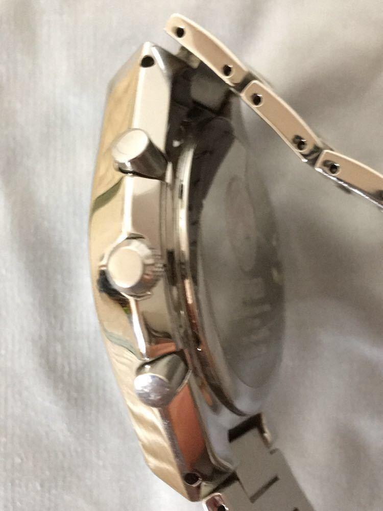 WIRED◆ワイアード クォーツ腕時計 アナログ 堅牢感のあるデザイン _画像2