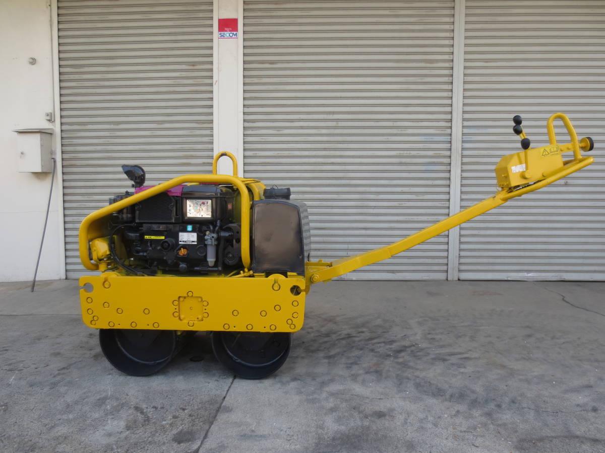 ボマークジャパン ハンドローラー 運転整備重量610㎏ 最高速度3.5㎞/h 登坂角度25度 エンジン・ヤンマー水冷4サイクル 燃料軽油