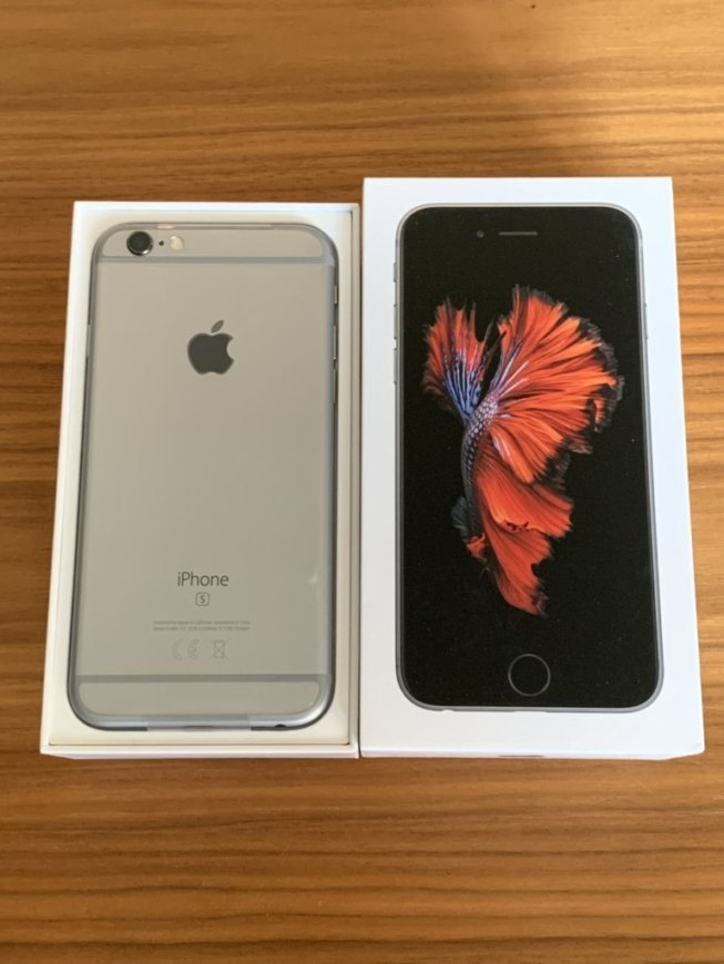 ⑩1円 新品未使用 yモバイル iPhone6s スペースグレイ 32GB 送料無料SIMフリー確約Y!mobile MN0X2J/A Space Gray黒SIMロック解除確約グレー
